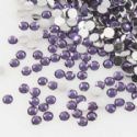 Jewel Embellishments, Resin, Dark purple, Faceted Discs, 2mm x 2mm x 0.8mm, 300  pieces, (ZSS068)